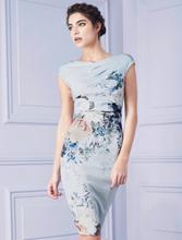 Tempting Print Bodycon Dress
