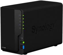 Synology DS220+ Nas for 2 harddisker