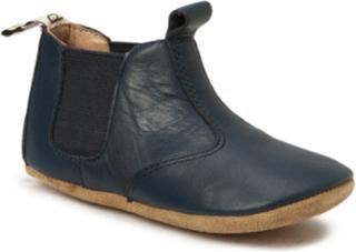 Chelsea Home Shoe Slippers Hjemmesko Blå BISGAARD
