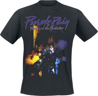 Prince - Purple Rain -T-skjorte - svart