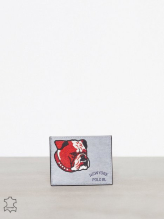 Polo Ralph Lauren Bulldog Card Case Lompakot Grey