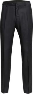Shd -Myloram5 Navy Trouser Noos Habitbukser Stylede Bukser Sort Selected Homme
