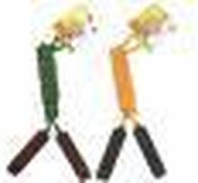 Summertime Springtouw 390 cm (2004132) ass. Groen en Oranje