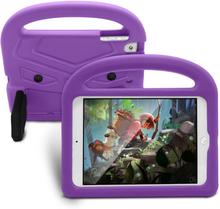 iPad Mini 1/2/3/4/(2019) Børne cover - Sparrow Kickstand Cover - Lilla