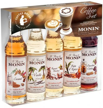Monin Kaffeset 5 x 5 cl