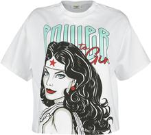 Wonder Woman - Power Girl -T-skjorte - hvit