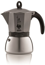 Bialetti Brygger MokkaInduction Anthracite 6/k Bialetti