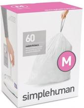 Simplehuman 45 liter 5 x 20 affaldssække