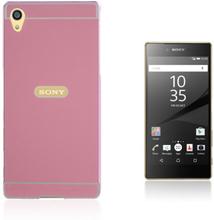 Egeland Sony Xperia Z5 Premium deksel med Støtfanger - Rosa