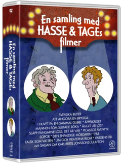 En samling med Hasse & Tages filmer (15 disc)