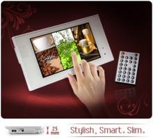 "P070S-5M 7"" LCD touchskärm med inbyggd mediaspelare"