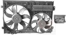 VAN WEZEL Tuuletin, moottorin jäähdytys