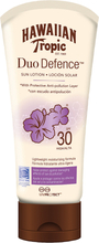 Hawaiian Tropic DuoDefence Sun Lotion SPF30, SPF30 180 ml Hawaiian Tropic Solskydd