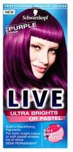 Schwarzkopf LIVE Ultra Brights or Pastel 94 Purple