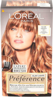 Loreal Paris Preference Glam Highlight Light Brown Dark Blond
