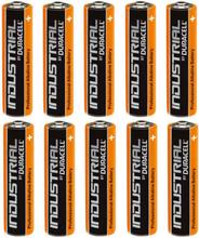 Duracell Industrial AA Alkaline Batterier - 10 stk.