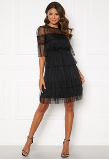 Happy Holly Smilla mesh dress Black 52/54