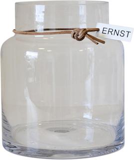 Ernst glassvase H18cm Ø12,5cm Klar