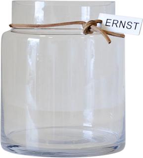 Ernst glassvase H22,5cm Ø12,5cm Klar