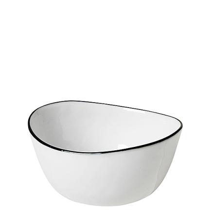 Broste Copenhagen Salt Skål Oval Ø 11 x 10 cm