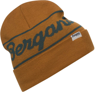 Bergans Bergans Logo Beanie Dame luer Brun OneSize