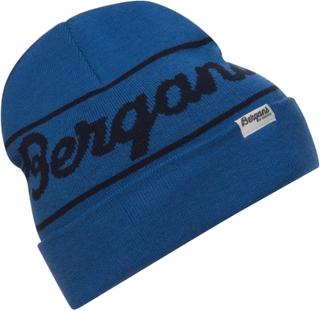 Bergans Bergans Logo Beanie Dame luer Blå OneSize