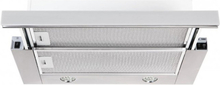 Utdragbar köksfläkt Nogran rostfritt stål 50cm/ 60cm/90cm + LED
