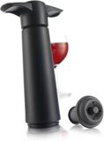 Wine Saver - presentförpackning, svart Vacu Vin