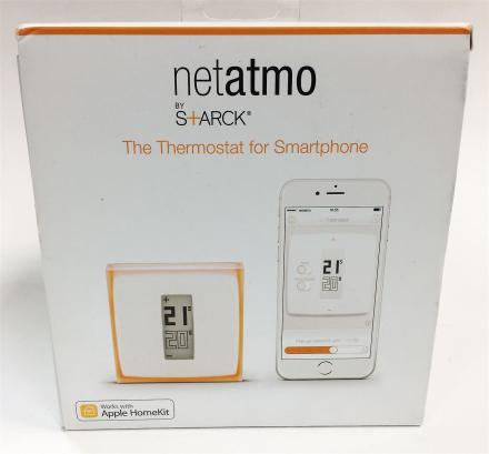 Smart termostat for individuelle kjele - Netatmo av Starck, fungere...