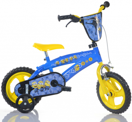 "Dino Bikes Minions 12"" - CDON.COM"