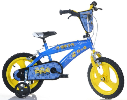 "Dino Bikes Minions 16"" - CDON.COM"