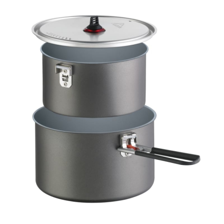 MSR Ceramic 2-Pot Set Köksutrustning Grå OneSize