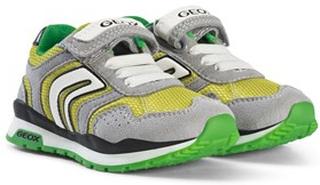 Geox Pavel Velcro Sneakers Grön och Lime 35 (UK 2.5)