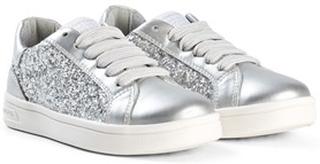 Geox DJ Rock Glitter Sneakers Silver 28 (UK 10)