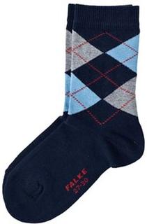 Falke Navy Burlington Short Socks EU 23-26