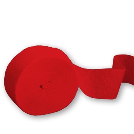 Crepe bånd Rød