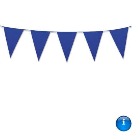 Vimpel i blå stor 10m