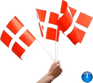 A4 Dansk hurra flag