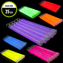 """6"""" Glowsticks, 25 pcs Pink"""