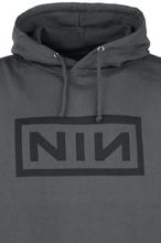 Nine Inch Nails - Classic Black Logo -Hettegenser - koksgrå