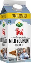 Mild Yoghurt naturell 3% Arla