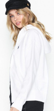 Polo Ralph Lauren Ls Fz Hoodie-Long Sleeve-Knit White