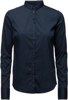 Tilda Shirt Langærmet Skjorte Blå MOS MOSH