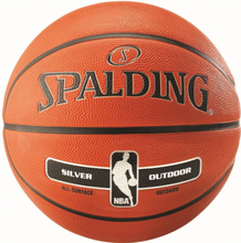 Spalding NBA Silver Rubber konkurrence bold