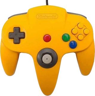 Nintendo 64 Controller - Yellow - Original Used