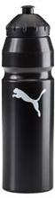 PUMA Juomapullo Muovi 1 liter - Musta/Valkoinen