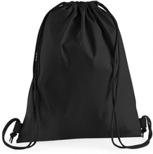 Premium Cotton Gymsac Black
