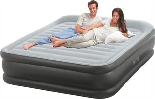 Intex Pillow Rest Deluxe luftmadras - dobbelt