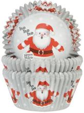 Jultomte Muffinsformar Santa Julmuffins 50st - House of Marie