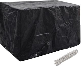 vidaXL Cover til havemøbler 8 snørehuller 140 x 70 x 90 cm